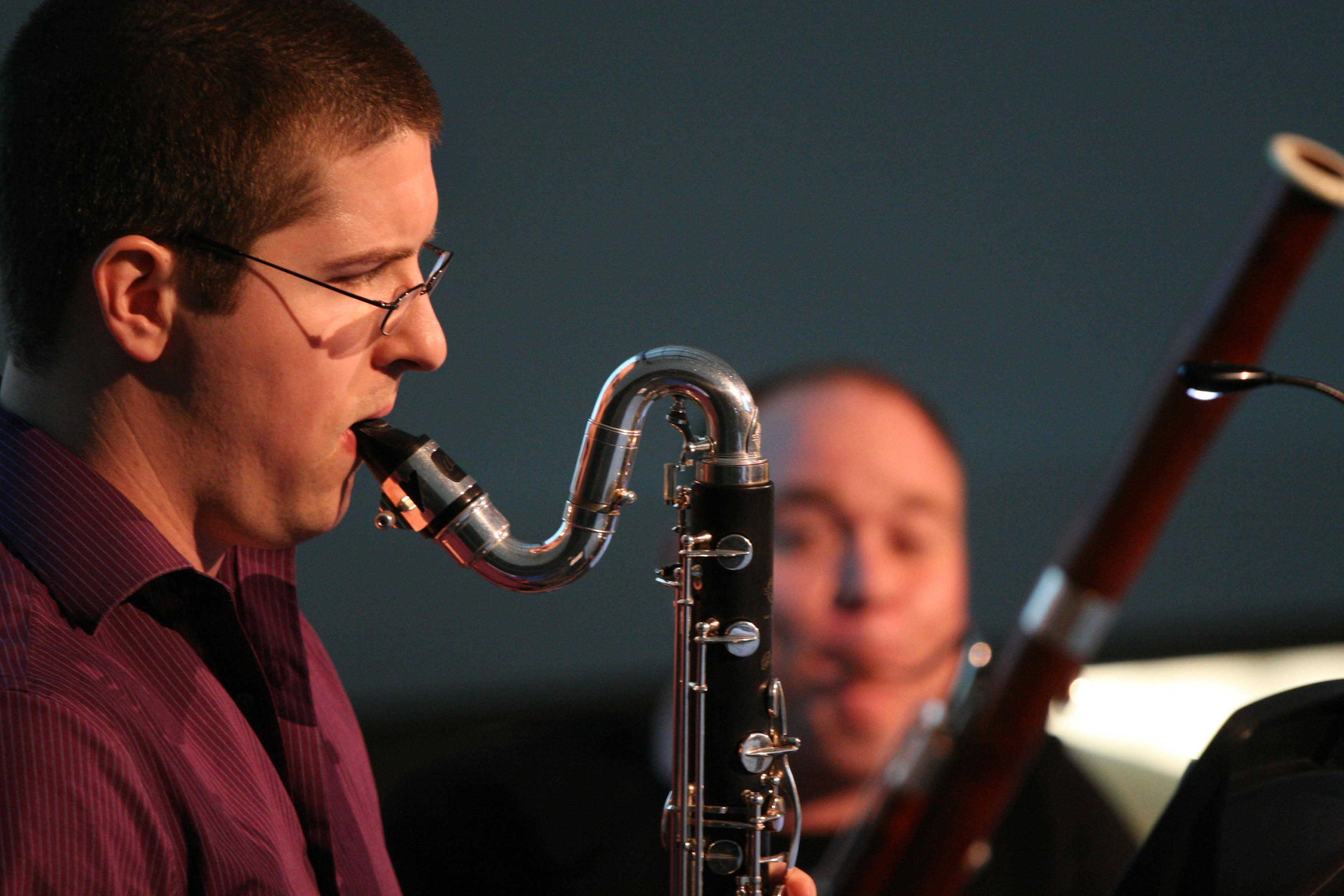 Wind Instrument in Concert